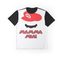 Mario Mamma mia! Graphic T-Shirt