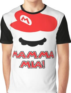 Mario Mamma mia! Graphic T-Shirt