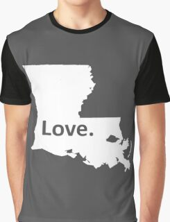 Louisiana Love Graphic T-Shirt