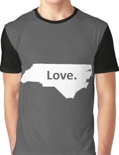 North Carolina Love Graphic T-Shirt