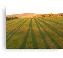Crooked Lines Canvas Print
