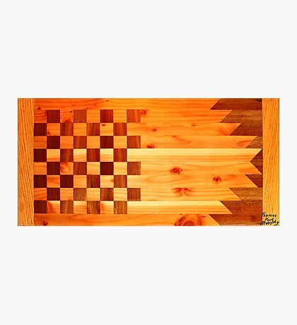 Woodworking Flag Photographic Print