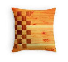 Woodworking Flag Throw Pillow