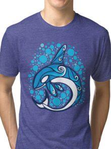 Blue Orca Tri-blend T-Shirt
