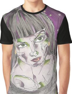 Goth Girl Graphic T-Shirt
