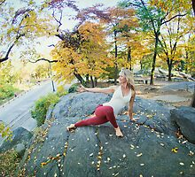 Shiva Rea at Central Park, New York by Wari Om  Yoga Photography