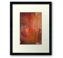 May you live in interesting times Framed Print