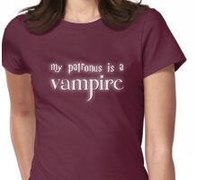 My Patronus is a Vampire Womens Fitted T-Shirt