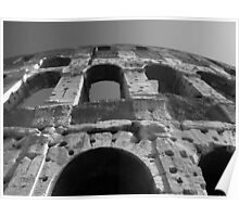Colloseum Gladiator Arena Poster