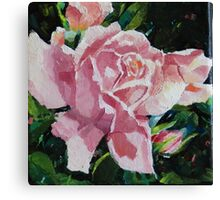 It's Coming Up Roses Canvas Print