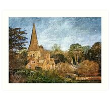 Whitchurch (Hampshire) Art Print