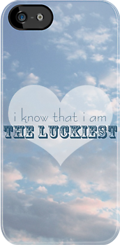 The Luckiest iphone case by JillianAudrey