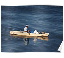 Fishing In The Morning Light - Pescar En La Luz De La Manaña Poster