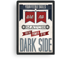 Star Wars Quote Poster Canvas Print
