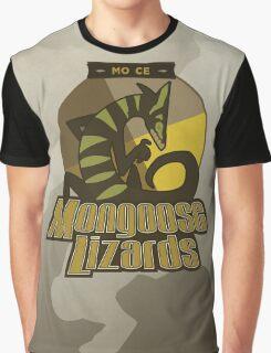Mo Ce Mongoose Lizards Graphic T-Shirt