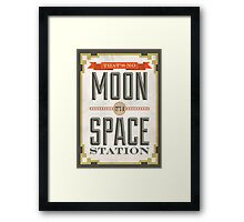 Star Wars Quote Poster #2 Framed Print