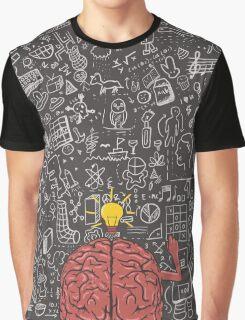 My Brain Won't Stop Graphic T-Shirt