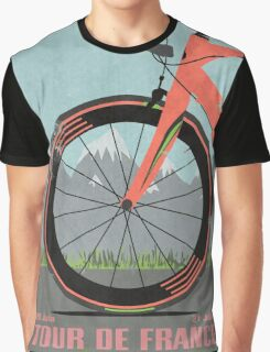 Tour De France Bike Graphic T-Shirt
