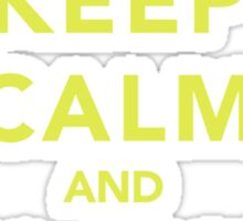 Keep Calm and Blame Sorcery Sticker