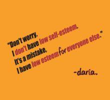 Daria - Self Esteem by HarryCane