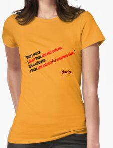 Daria - Self Esteem Womens Fitted T-Shirt