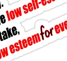 Daria - Self Esteem Sticker