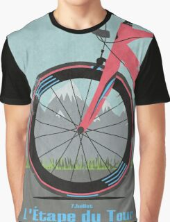 L'Étape du Tour Bike Graphic T-Shirt