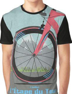 L'Étape du Tour Bike Graphic T-Shirt