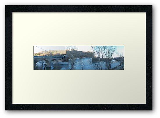 un roseo tramonto aspettando la neve..... val Ceno - Parma - Italia -  800 VISUALIZZ.  2012 -- VETRINA RB EXPLORE MARZO 2013 -- by Guendalyn