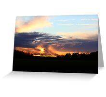 Moody Kent Sunset Greeting Card