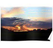 Moody Kent Sunset Poster