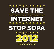 Save the Internet - Stop SOPA Unisex T-Shirt