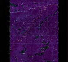 USGS Topo Map Washington State WA Old Scab Mtn 242934 1971 24000 Inverted by wetdryvac