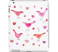 Birds and Blossoms iPad Case/Skin