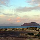 The 3 island sundown towards east by João Figueiredo