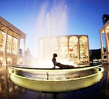 Cobra at the Lincoln Center, New York by Wari Om  Yoga Photography