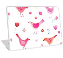 Birds and Blossoms Laptop Skin