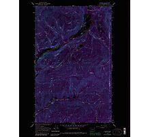 USGS Topo Map Washington State WA Aladdin 239773 1966 24000 Inverted Photographic Print