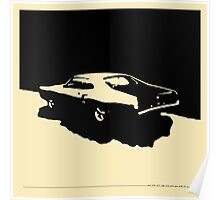 Mercury Marauder,  1969 - Black on light Poster