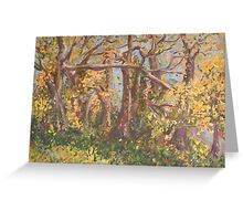Fall Trees in Nashville Greeting Card