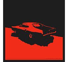 Mercury Marauder,  1969 - Red on black Photographic Print