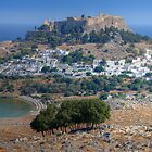 Lindos, Rhodes, Greece by strangelight