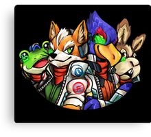 STAR FOX FLEET Canvas Print