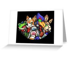 STAR FOX FLEET Greeting Card