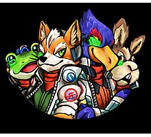 STAR FOX FLEET Photographic Print