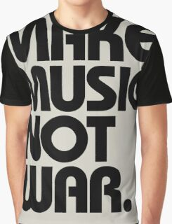 Love Dubstep Music (black) Graphic T-Shirt