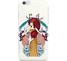 Lady of Fall iPhone Case/Skin