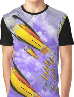 space ship invasion squadron  Graphic T-Shirt