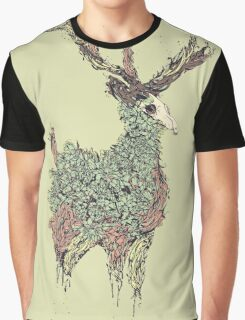 Beautiful Deer Old Graphic T-Shirt