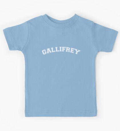 Gallifrey Logo Kids Tee